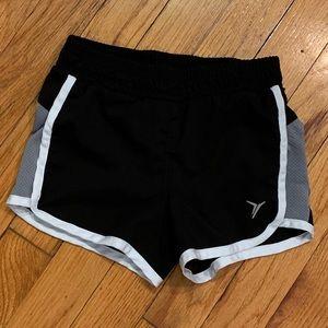 OLD NAVY Active Black Shorts - XS(5) Kids